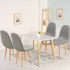 Image Scandinavian Style Scandinaviandiningtableand4chairsretromodern Ebay Scandinavian Dining Table And Chairs Retro Modern Home Kitchen
