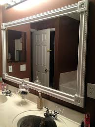 frame a mirror bathroom mirror