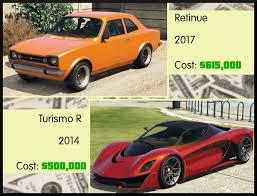 Gta Car Comparison Chart Gta Online Has An Inflation Problem Usgamer