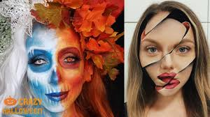 top 10 insane halloween makeup tutorials crazy halloween 2018