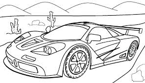 Cars Coloring Pages For Toddlers Race Car Printable Kids Racing Best