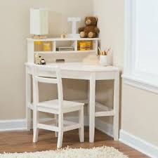 Details About Corner Desk Chair Set For Kids L Shape With Reversible Hutch Home Study Office