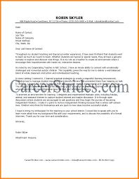8 Substitute Teacher Cover Letter Offecial Letter