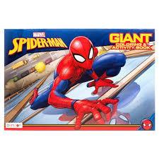 Haz tus compras en línea en walmart méxico a un súper precio y recibe tus productos y súper a domicilio. Coloring Activity Book Giant 11 X 16 Spiderman Wh Walmart Com Walmart Com