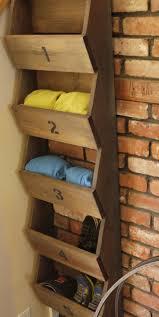 make a wood shoe rack