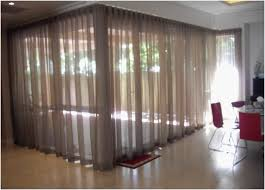 ceiling mounted curtain track bendable curtain rod