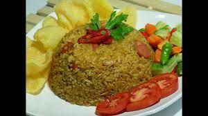 Cara memasak nasi goreng spesial ala restoran yang lezat bahan : Resep Cara Membuat Nasi Goreng Lezat Fried Rice Youtube