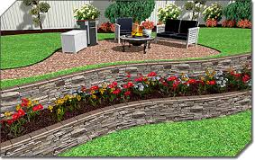 Small Picture Garden Design Online Garden Design Ideas