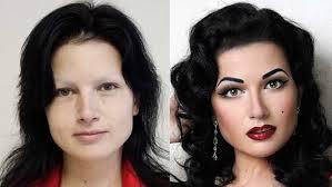 makeup transform