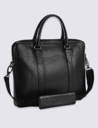 M And S Bathroom Accessories Mens Bags Leather Briefcases Laptop Bags For Men Ms