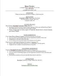 Sample Teen Resume - Resume Example