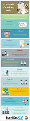 best ideas about writing a cv cv infographic 10 essential cv writing verbs infographic elearninginfographics com 10