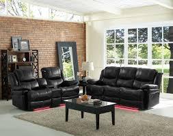 power recliner living room sets. new classic flynn 2-piece power reclining living room set in premier black recliner sets