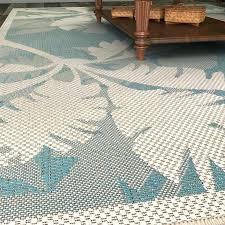 coastal flora ivory turquoise indoor outdoor area rug ideal nautical area rugs canada j0821915 coastal area