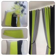 Lime Green Bedroom Curtains Details About Eyelet Curtains Ring Top Fully Lined Pair Ready Made