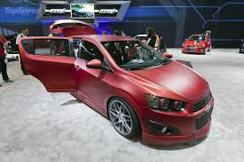 2012 Chevrolet Sonic Boom Concept Review - Top Speed