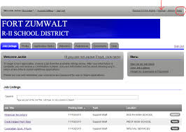 Applying For Internal Position How To Apply For Internal Positions Fort Zumwalt School District