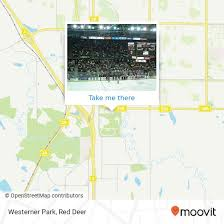 Enmax Centrium Seating Chart How To Get To Westerner Park In Red Deer By Bus Moovit