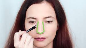 make your nose look straighter