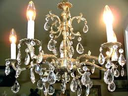 vintage chandeliers best images on crystal