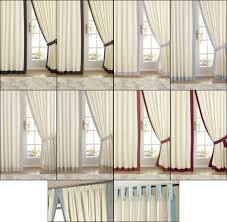 claremont satin lined tab top pencil pleat tape top curtains in various colours