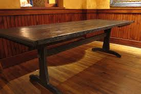 Reclaimed Wood Furniture Dining Tables Desks By Dining Table With
