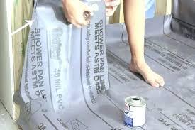 floor tile installation install shower pan liner installing installation kit 6 x tile floor installation ceramic floor tile