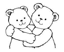 hug clipart black and white. hug clipart #17752 black and white g