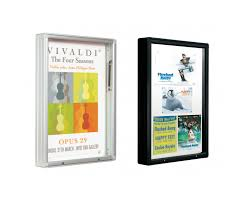 outdoor single sided 3000 display cases
