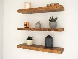 Homebase Floating Shelves New Awesome Oak Floating Shelf Homebase Impressive Floating Shelf Wood