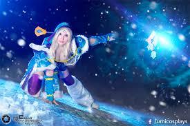 crystal maiden dota 2 cosplay by umi hyu by umicosplays on