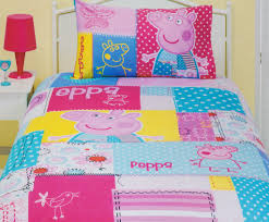 peppa pig patch quilt cover set bedding kids