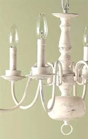 imposing painted chandelier white painted wood chandelier