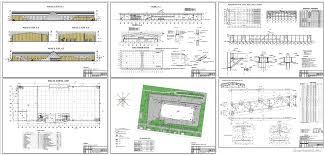 Проект торгового центра скачать Чертежи РУ Дипломный проект Торговый центр Стройматериалы 126 х 54 м в г