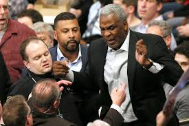 Charles Oakley tells his side More security kept coming at me.