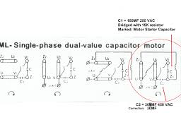 wiring diagram for 220v motor capacitors wiring diagram expert