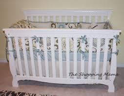 carousel designs custom crib bedding set review giveawaythe baby chevron carouselr 9c excellent