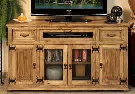 rustic pine tv stand. Beautiful Stand Rustic TV Stand Console Pine Wood Cabinet Intended Tv Stand C