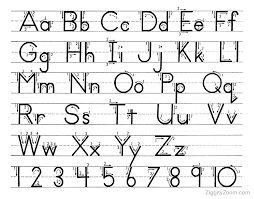 Alphabet Handwriting Worksheets For KindergartenCrystal Hoffman ...