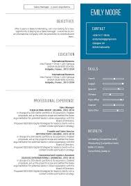 Modern Looking Font For Resume Modern Resume Template Handsome Resume Mycvfactory