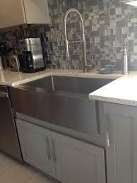kraus stainless steel sinks.  Kraus Kraus Stainless Steel Farmhouse Sink Reviews Image And Inside Sinks F