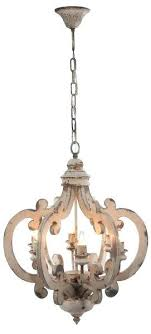 distressed pendant light white distressed painted wood 6 light chandelier pendant french country shabby chic
