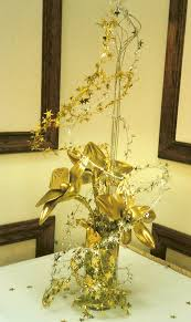 Decorative Stars For Parties 50th Birthday Star Theme 50th Birthday Party Gold Table Decor