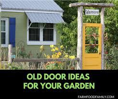 31 ideas to repurpose your old door