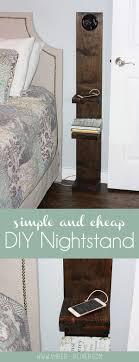 Diy Nightstand 20 Beste Ideean Over Diy Nightstand Op Pinterest Houten Krat