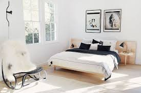 neutral bedroom. vanessa traina routinely nails the borrowed-from-the-boys aesthetic. los neutral bedroom e