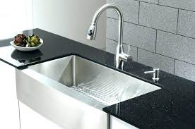 sink reviews granite kitchen large size of sinks farmhouse composite elkay quartz luxe stainless steel