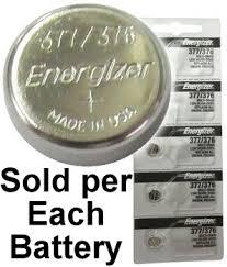 Energizer 377 376 Sr626w Sr626sw Silver Oxide Watch