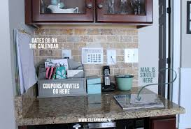 the secret to keeping mail off the counters clean mama organize kitchen utensils organize kitchen pantry