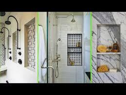 modern bathroom shower niche ideas